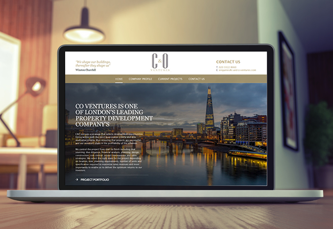 New website launched for C&O Ventures